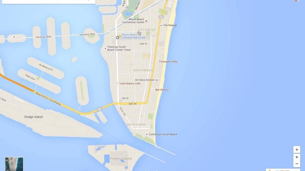 Miami Beach Neighborhood Tour & Google Maps Walkthru - Youtube - Miami Florida Google Maps