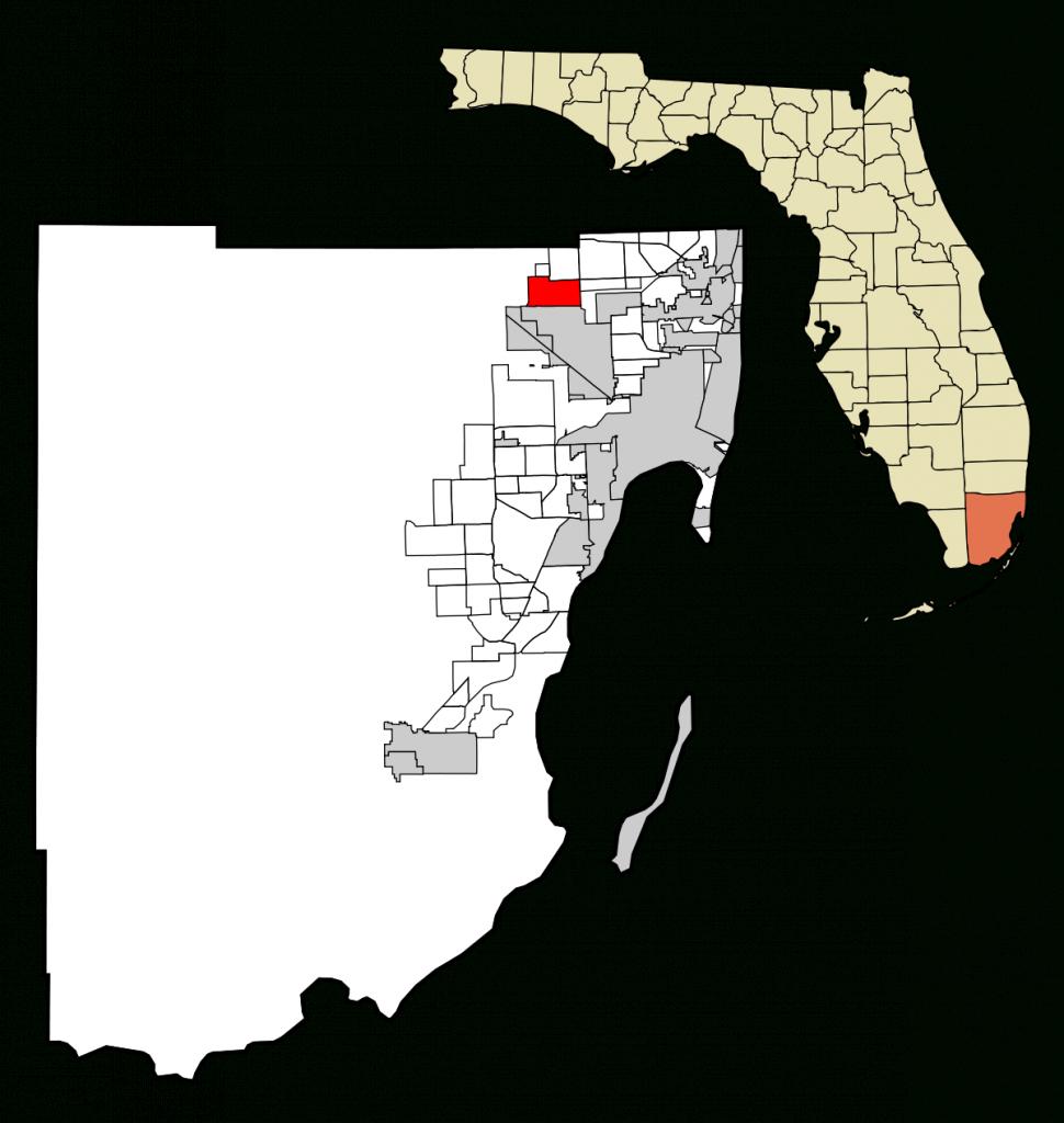 Miami Lakes, Florida - Wikipedia - Surfside Florida Map