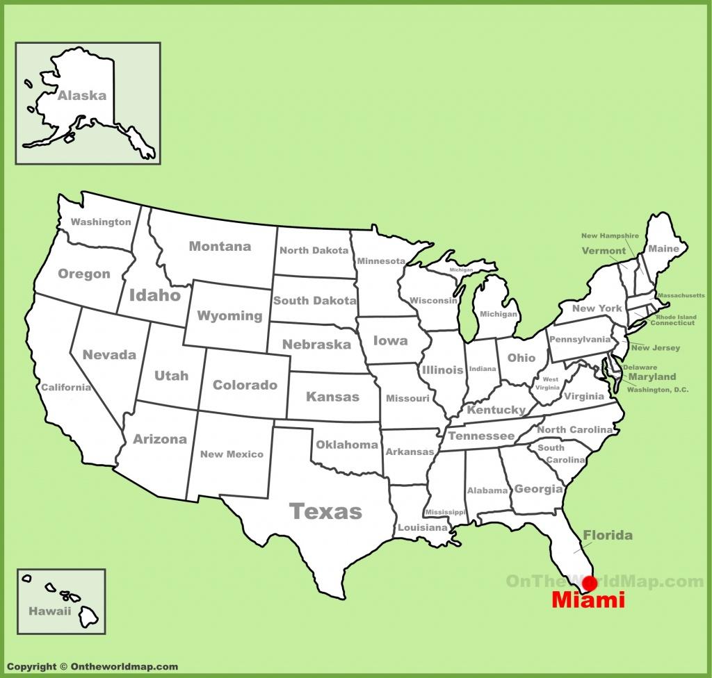 Miami Maps   Florida, U.s.   Maps Of Miami - The Map Of Miami Florida