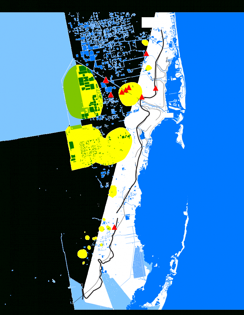 Miami's Other Water Problem - Bloomberg - Florida Underwater Map