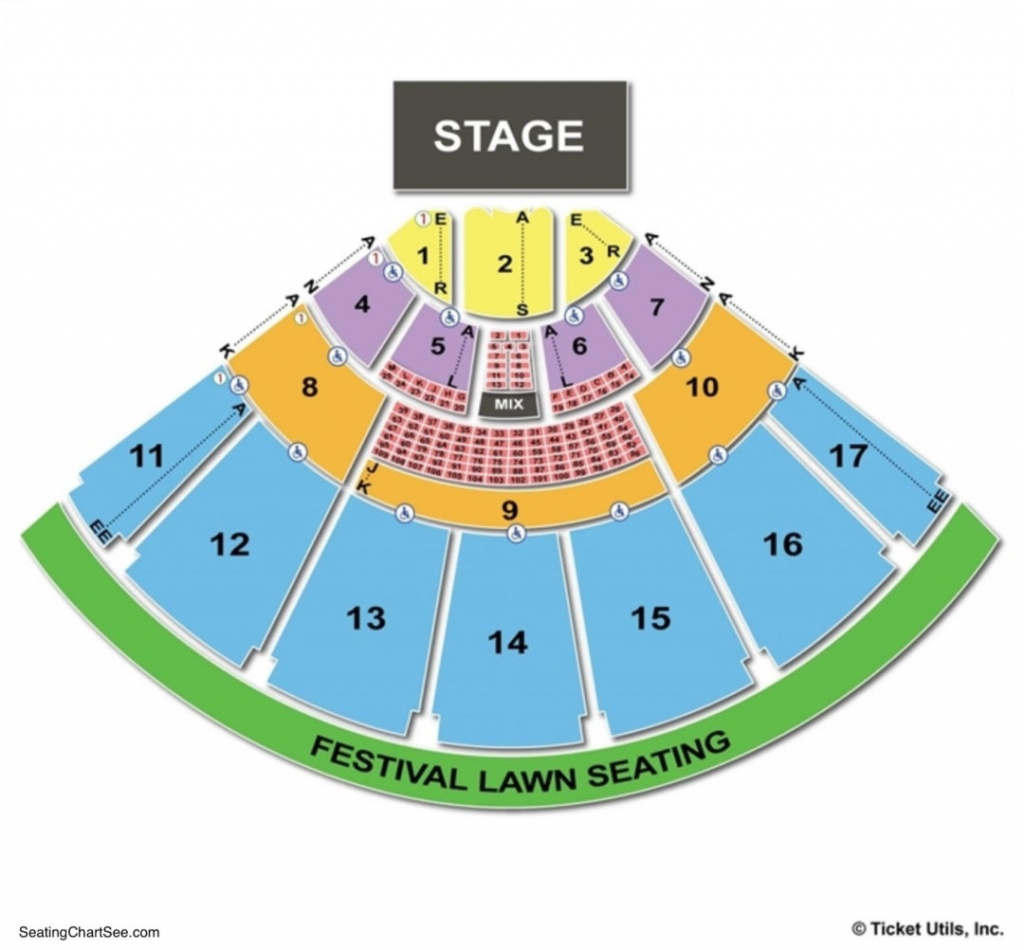 Midflorida Credit Union Amphitheatre Seating Chart | Seating Charts - Mid Florida Credit Union Amphitheater Parking Map