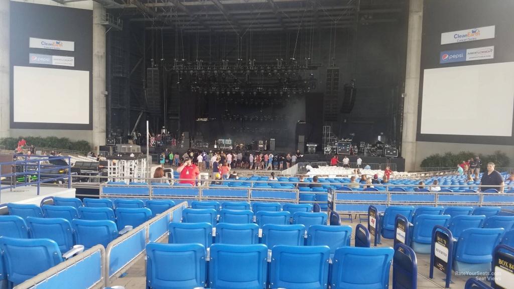 Midflorida Credit Union Amphitheatre Vip Box Seats - Rateyourseats - Mid Florida Credit Union Amphitheater Parking Map