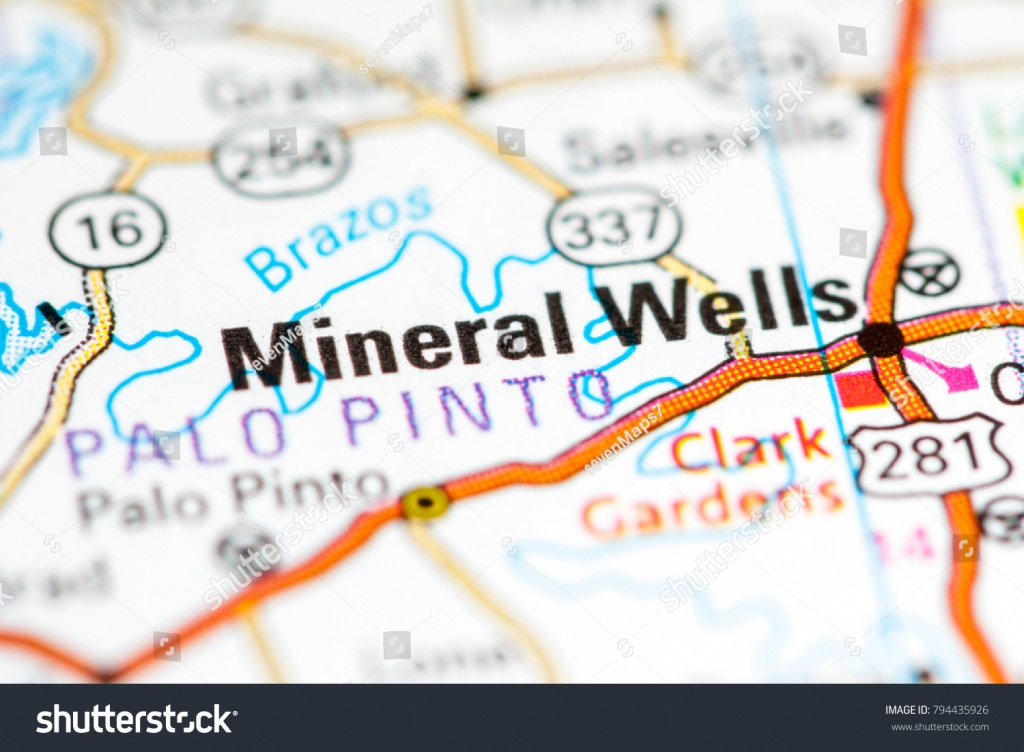 Mineral Wells Texas Usa On Map Stock Photo (Edit Now) 794435926 - Mineral Wells Texas Map