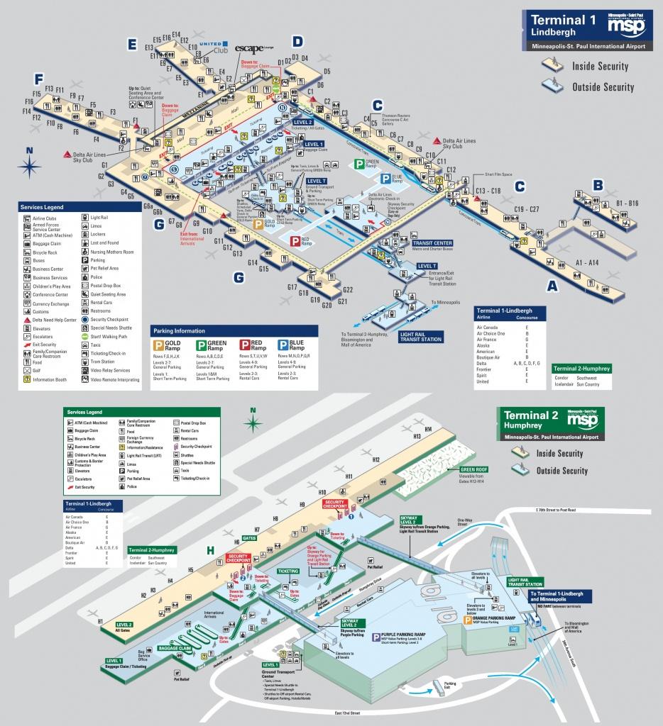 Minneapolis Maps | Minnesota, U.s. | Maps Of Minneapolis - Minneapolis Skyway Map Printable