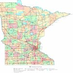 Minnesota Printable Map   Printable Map Of Minnesota