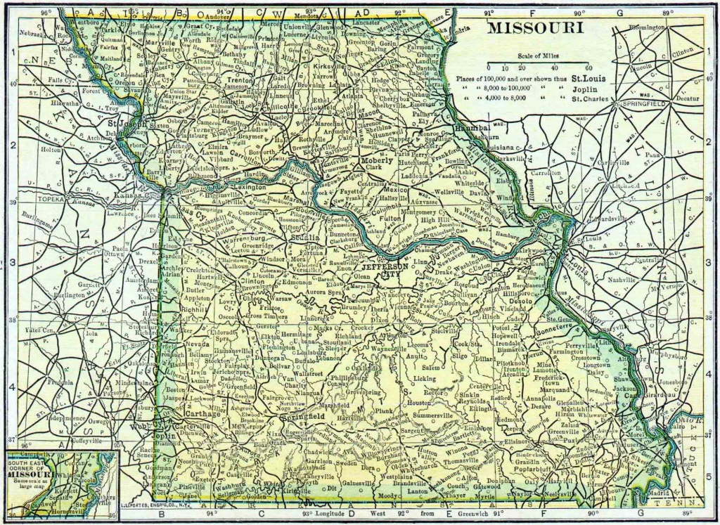 Missouri Genealogy - Free Missouri Genealogy | Access Genealogy - Texas County Missouri Plat Map