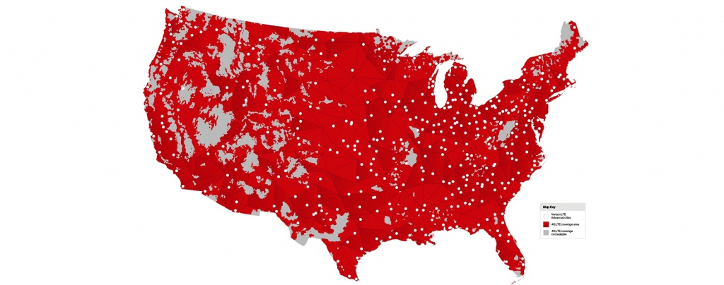 Mobile Users In 461 Markets Today Get 50% Faster Peak Speeds At No - Verizon Map Coverage Texas