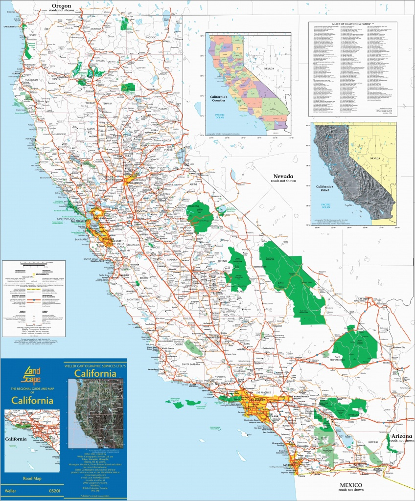 Mojave California Map Large Detailed Map Of California With Cities - Mojave California Map
