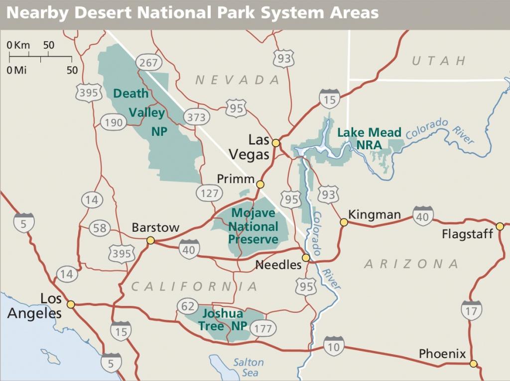 Mojave Maps | Npmaps - Just Free Maps, Period. - Mojave California Map