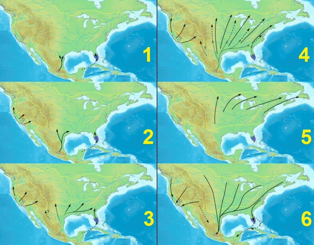 Monarch Butterfly Migration - Wikipedia - Monarch Butterfly Migration Map California