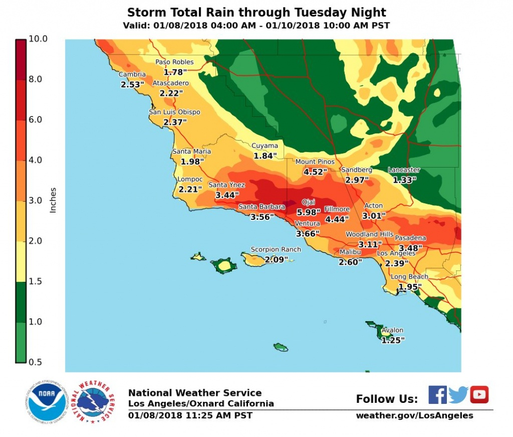 Monday's Southern California Storm Is Nothing Compared To What We're - Southern California Weather Map