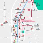 Monorail, Tram & Strip Map | Las Vegas Maps | Vegasjourney   Printable Vegas Strip Map