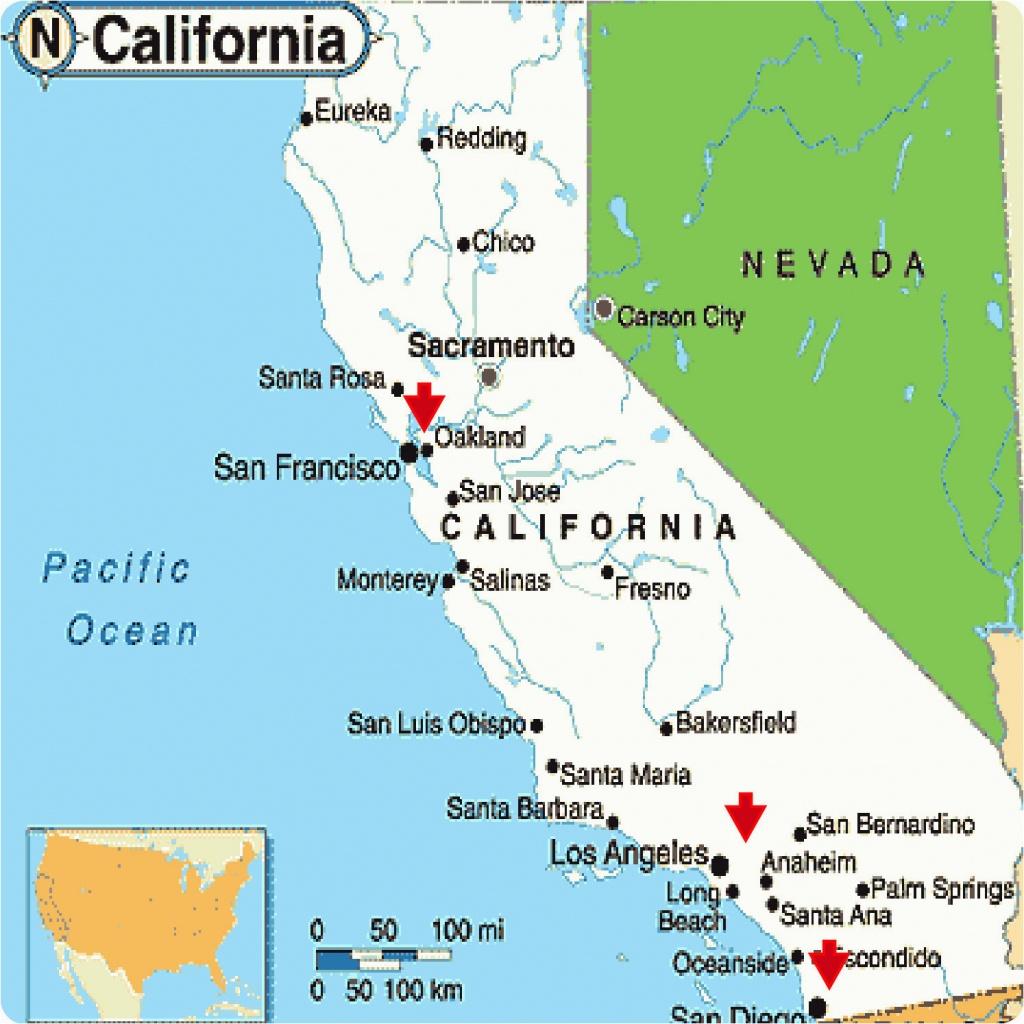 Monterey California Google Maps Map California Google Map California - Fresno California Google Maps