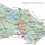Montgomery County | The Handbook Of Texas Online| Texas State   New Caney Texas Map