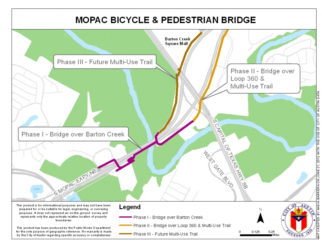 Mopac Mobility Bridges | Austintexas.gov - The Official Website Of - Austin Texas Bike Map