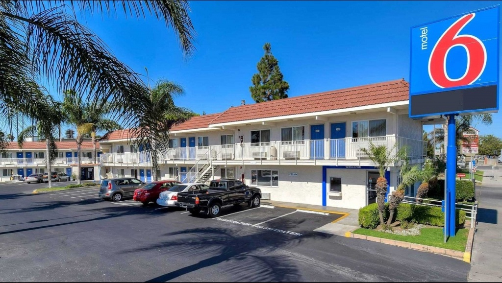 Motel 6 Los Angeles - Long Beach Hotel In Long Beach Ca ($89+ - Motel 6 California Map