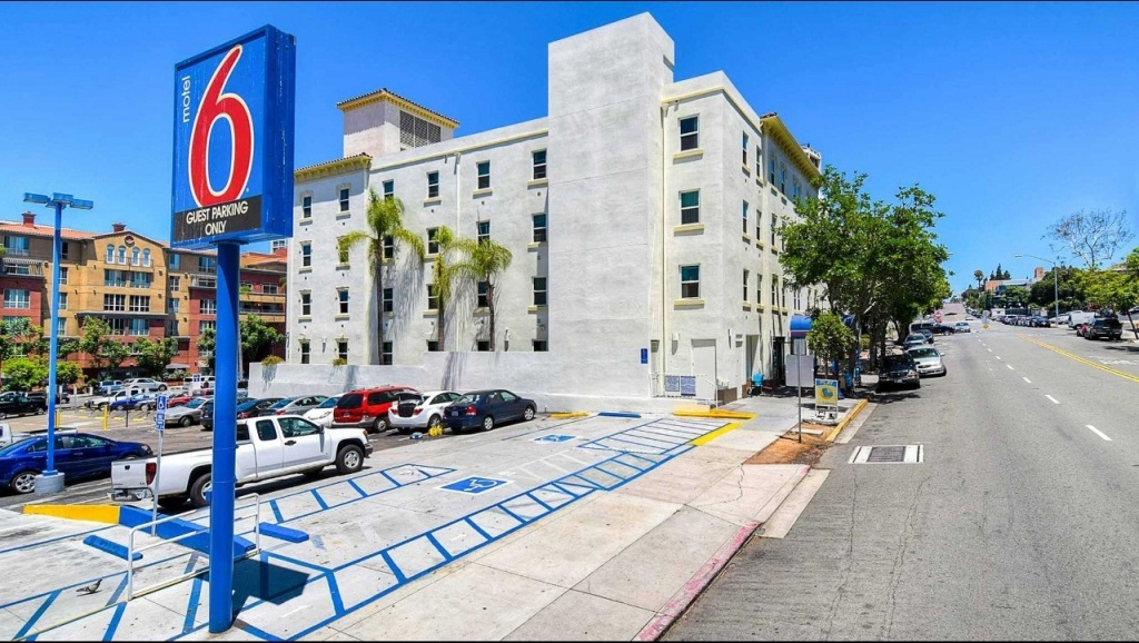 Motel 6 San Diego Downtown Hotel In San Diego Ca ($99+) | Motel6 - Motel 6 California Map