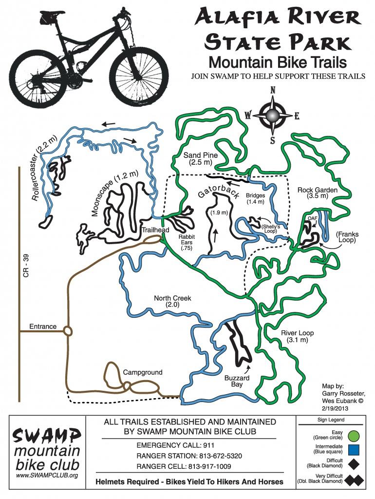 Mountain Biking In Florida | The Trail Mayor - Florida Mountain Bike Trails Map