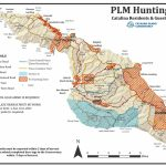 Mule Deer   California Deer Zone Map 2018