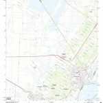 Mytopo Aransas Pass, Texas Usgs Quad Topo Map   Map Of Aransas Pass Texas