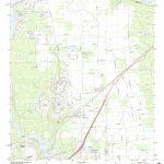 Mytopo Crosby, Texas Usgs Quad Topo Map   Crosby Texas Map