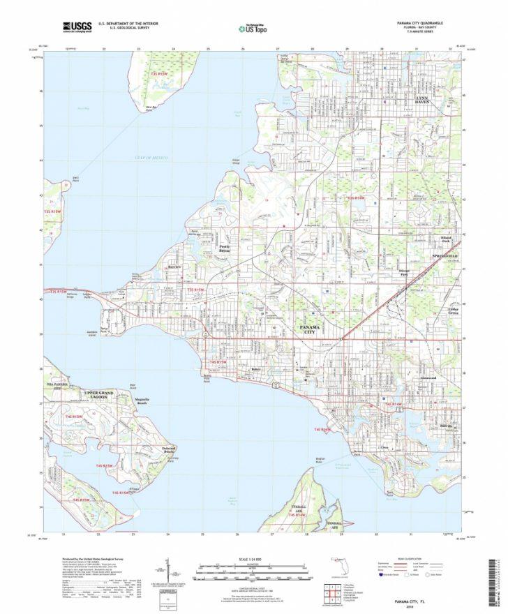 Panama Florida Map