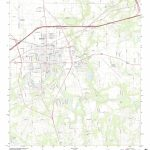 Mytopo Seguin, Texas Usgs Quad Topo Map   Seguin Texas Map
