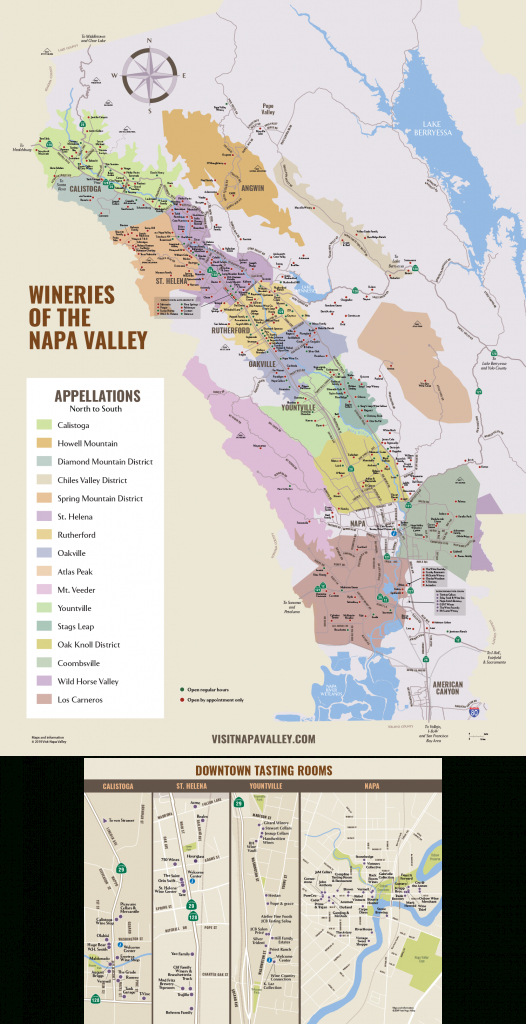 Napa Valley Winery Map | Plan Your Visit To Our Wineries - Sonoma Wineries Map Printable