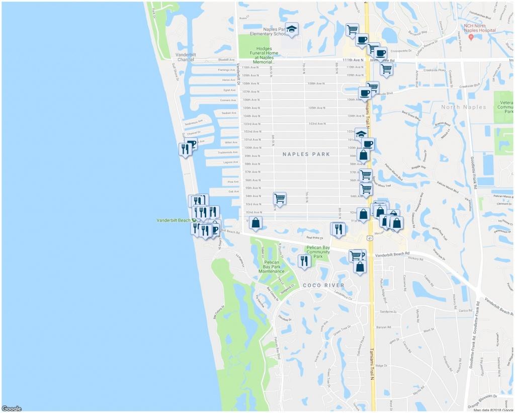 Naples Fl Map   Ageorgio - Naples On A Map Of Florida