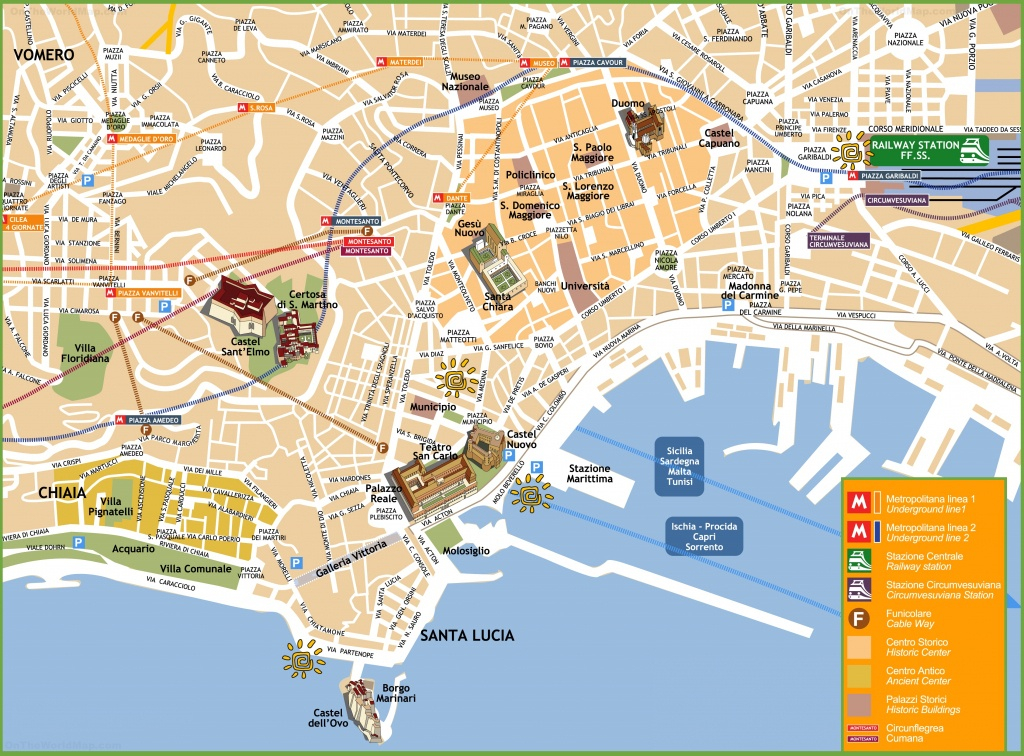 Naples Tourist Attractions Map - Texas Sightseeing Map