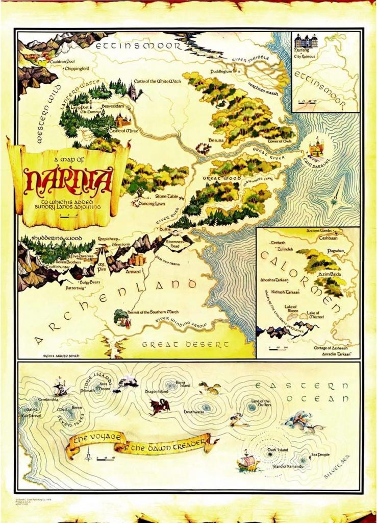 Narnia In 2019   Fantasy   Narnia, Map Of Narnia, Chronicles Of Narnia - Printable Map Of Narnia