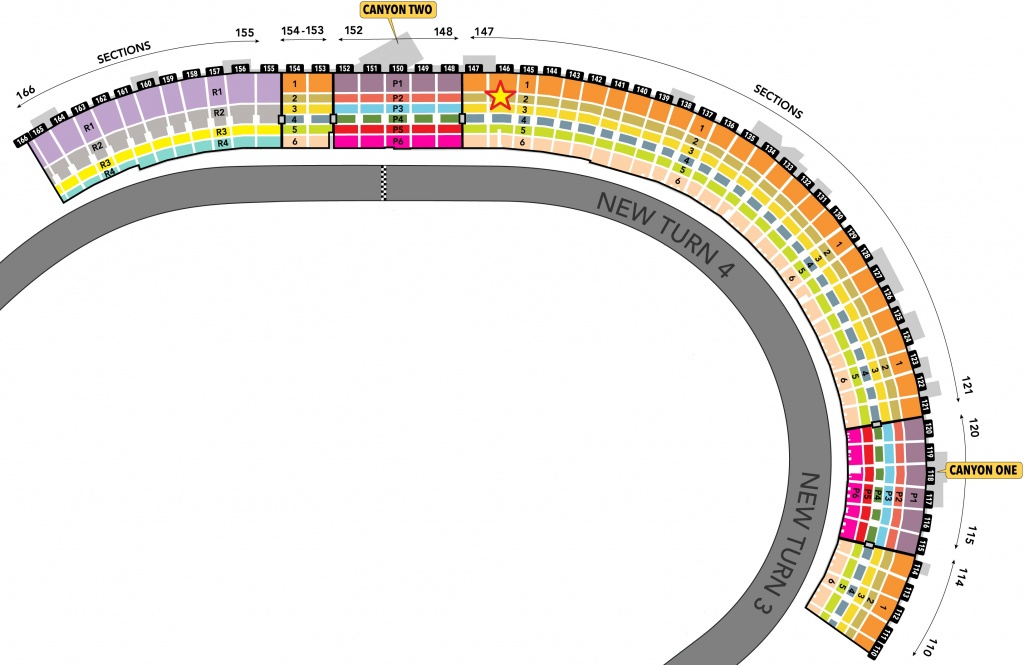 Nascar Seating Charts - Race Track And Speedway Maps - Texas Motor Speedway Map