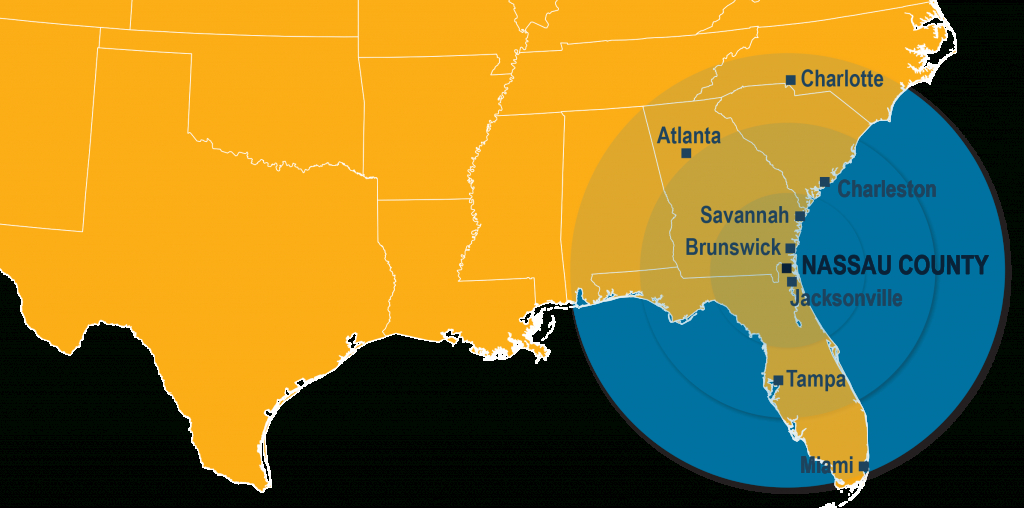 Nassau County - Nassau | Florida | Economic Development - Yulee Florida Map