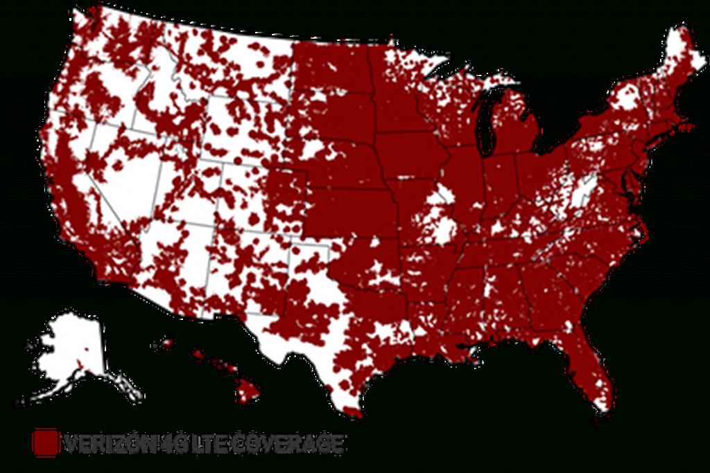"National Advertising Division Calls On Verizon To Discontinue ""more - Verizon Lte Coverage Map California"