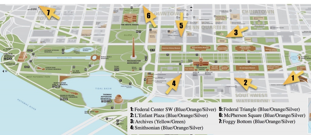 National Mall Guide And Things To Do | Free Toursfoot - Printable Walking Tour Map Of Washington Dc