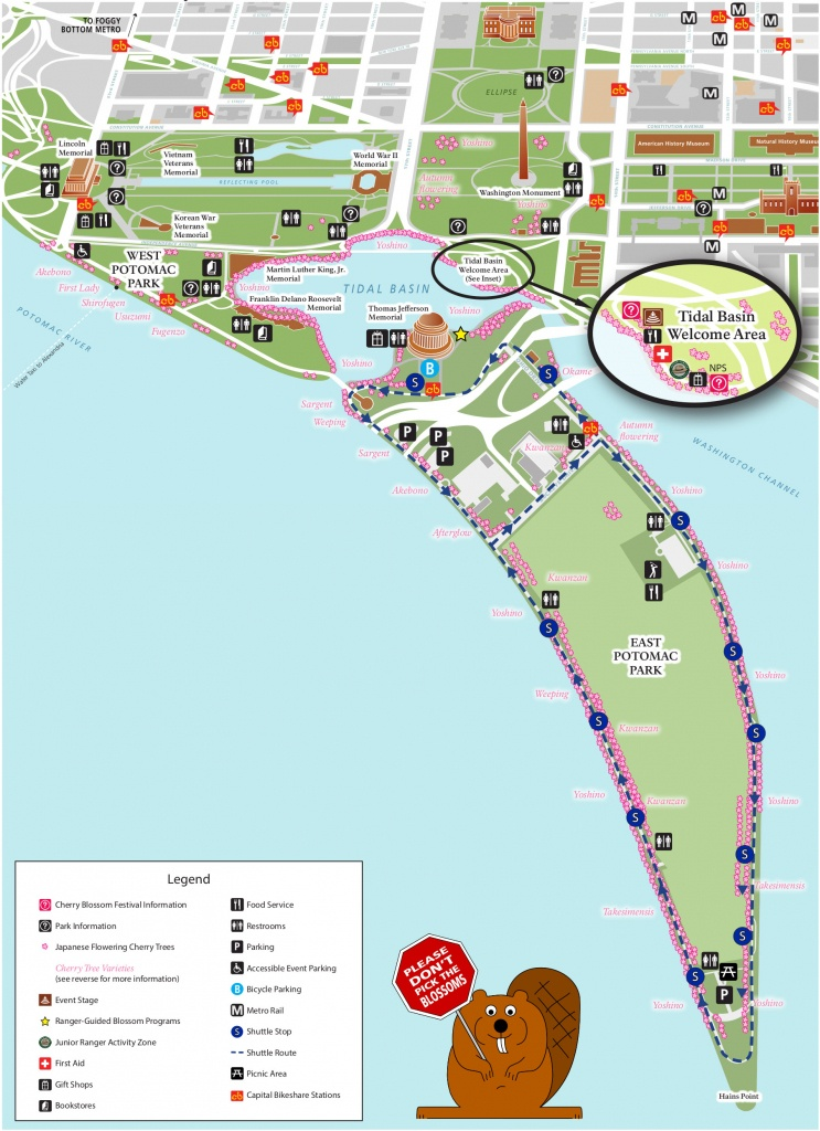 National Mall Maps | Npmaps - Just Free Maps, Period. - National Mall Map Printable