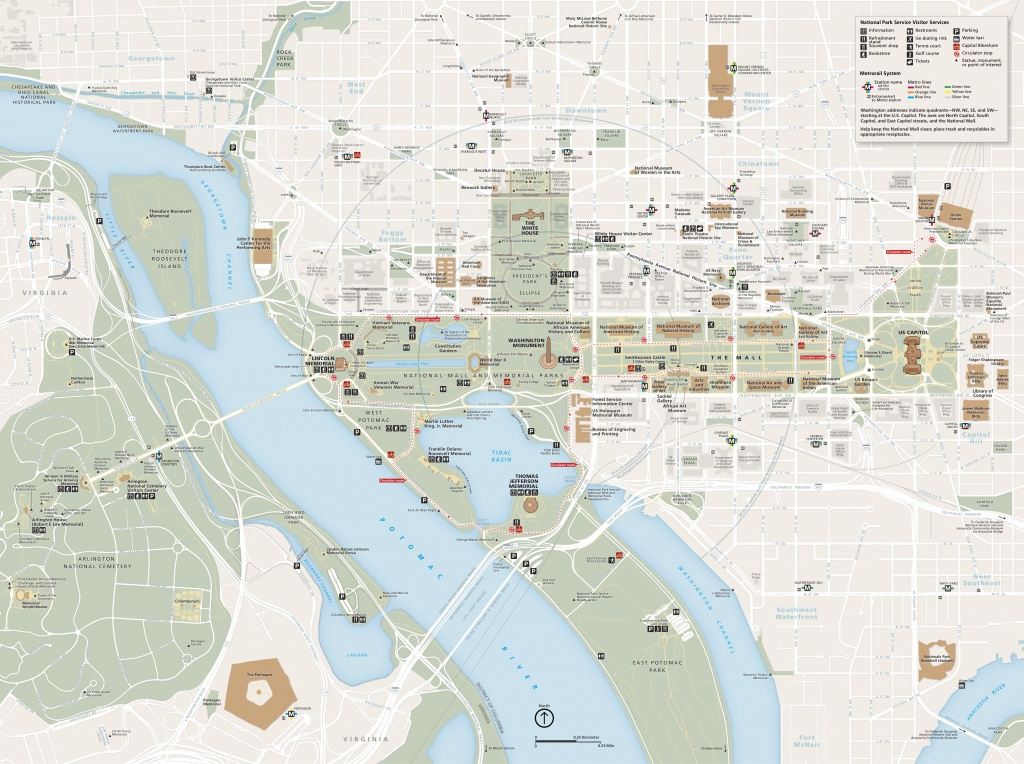 National Mall Maps   Npmaps - Just Free Maps, Period. - Printable Map Of The National Mall Washington Dc