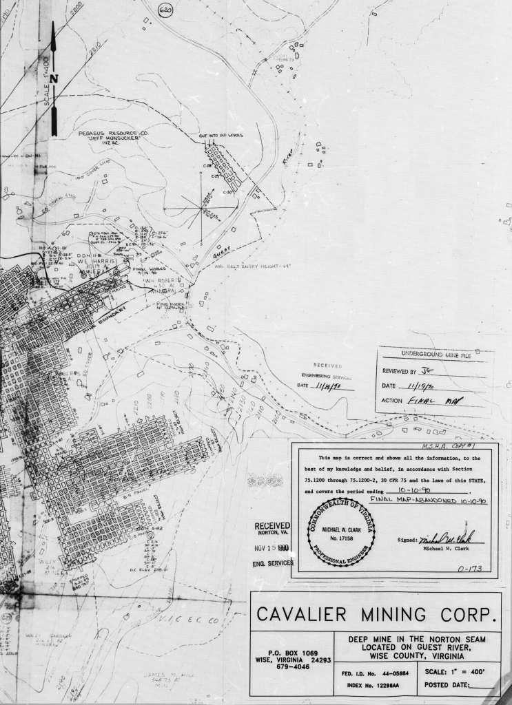 National Mine Map Repository (Nmmr) Website - Texas Rut Map