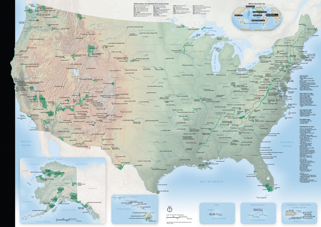 National Park Maps | Npmaps - Just Free Maps, Period. - Printable Map Of National Parks