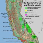 National Parks California Map And Travel Information | Download Free   California National Parks Map