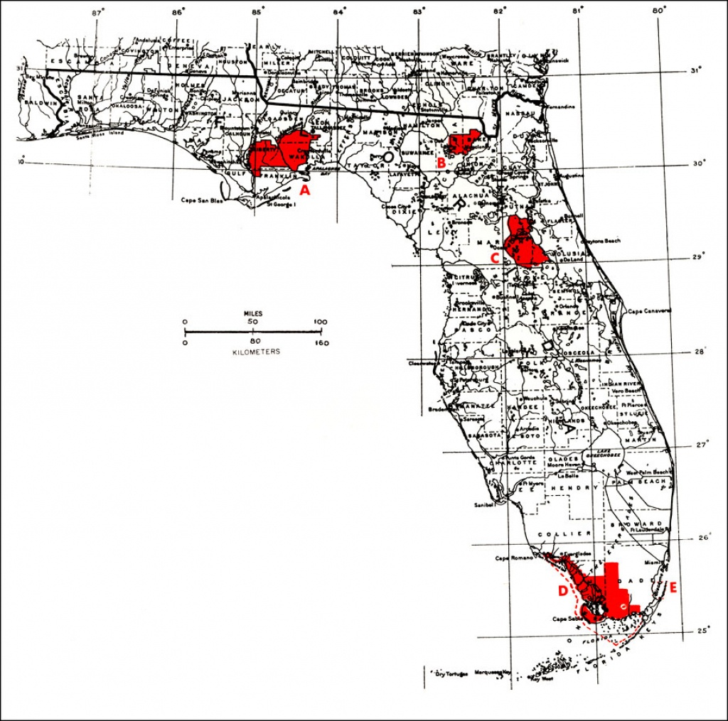 National Parks Florida Map And Travel Information   Download Free - National Parks In Florida Map