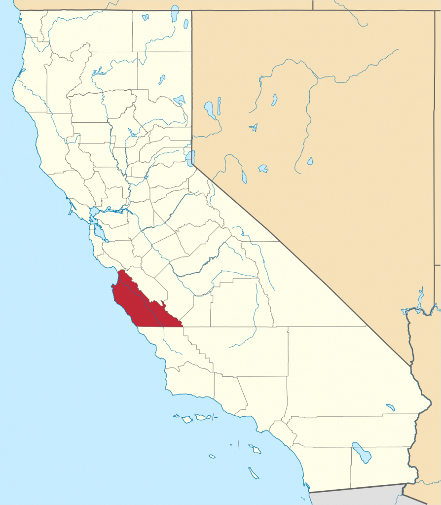 National Register Of Historic Places Listings In Monterey County - Monterey Bay California Map
