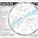 "Nesta-Us🌎 On Twitter: ""printable Evening Sky Map For January – Printable Sky Map"