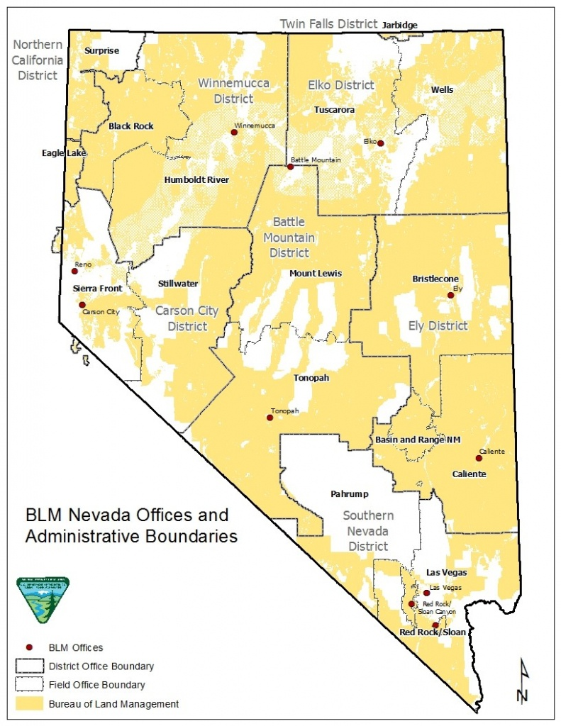 Nevada - Public Room | Bureau Of Land Management - Blm Land Map Southern California