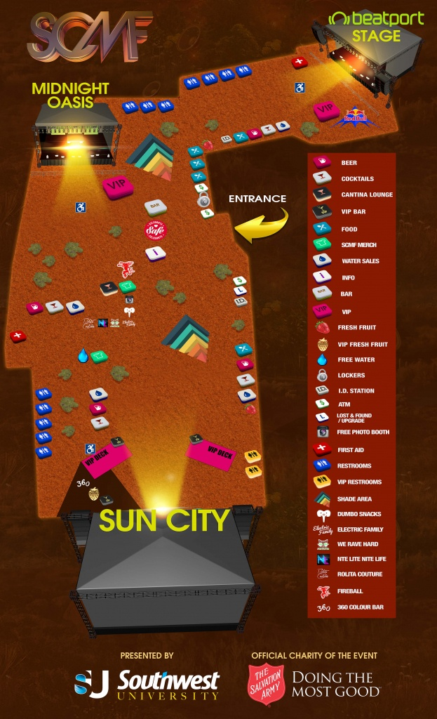 Never Miss A Beat With The Sun City Map! - Sun City Texas Map