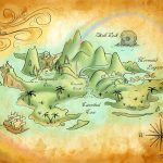 Neverland Mapmercedesjk.deviantart On @deviantart | Birthday   Printable Neverland Map