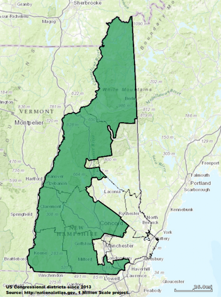 New Hampshire's 2Nd Congressional District - Wikipedia - Texas 2Nd Congressional District Map