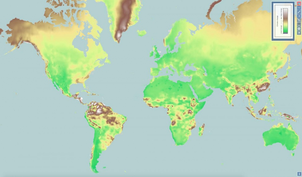 New Interactive Map Shows Climate Change Everywhere In World - Florida Map After Global Warming