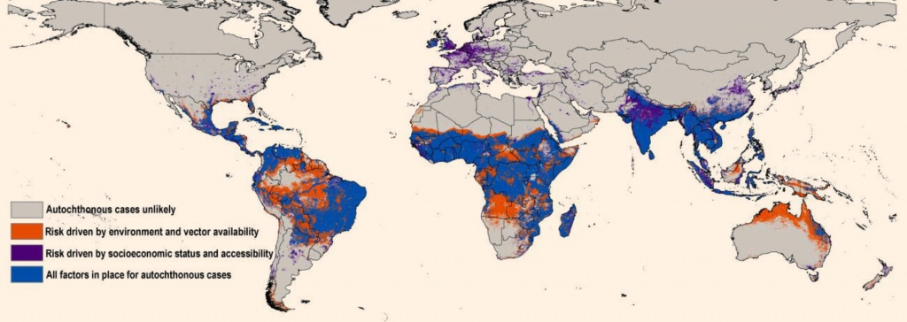 New Map Predicts Spread Of Zika Virus | Medicine | Sci-News - Zika Florida Map
