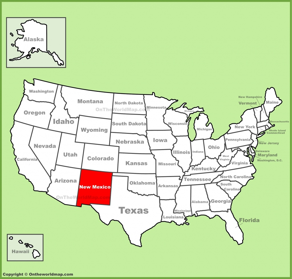 New Mexico State Maps | Usa | Maps Of New Mexico (Nm) - Texas New Mexico Map